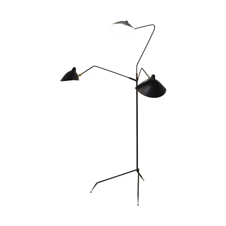 buy Design Within Reach Design Within Reach Serge Mouille Three-Arm Floor Lamp online