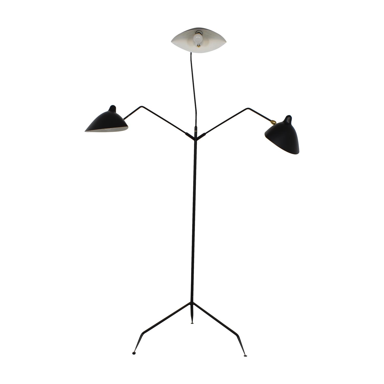 Design Within Reach Serge Mouille Three-Arm Floor Lamp Design Within Reach