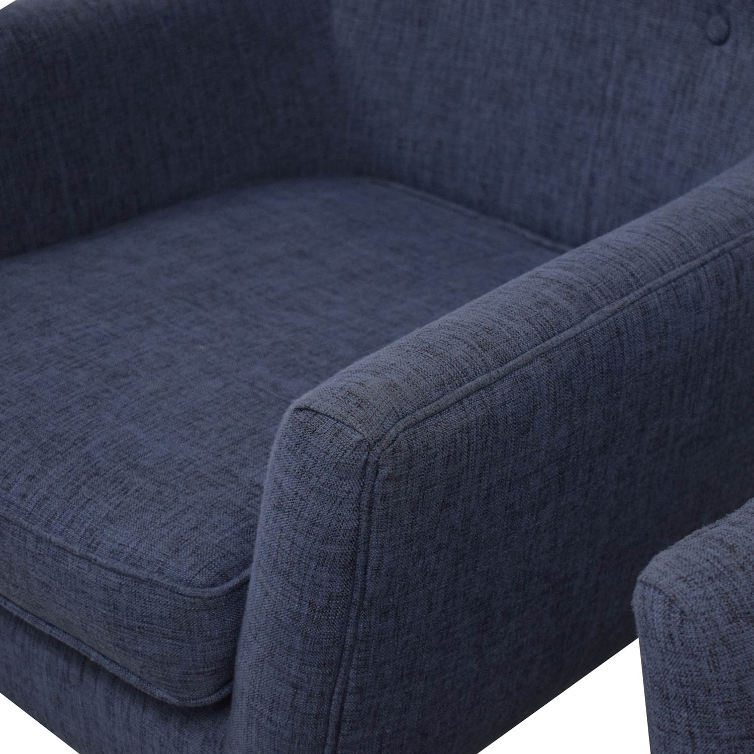 Tov TOV Furniture Clyde Linen Chairs dimensions
