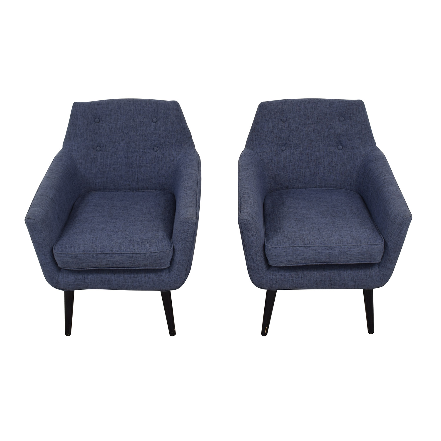 Tov TOV Furniture Clyde Linen Chairs for sale