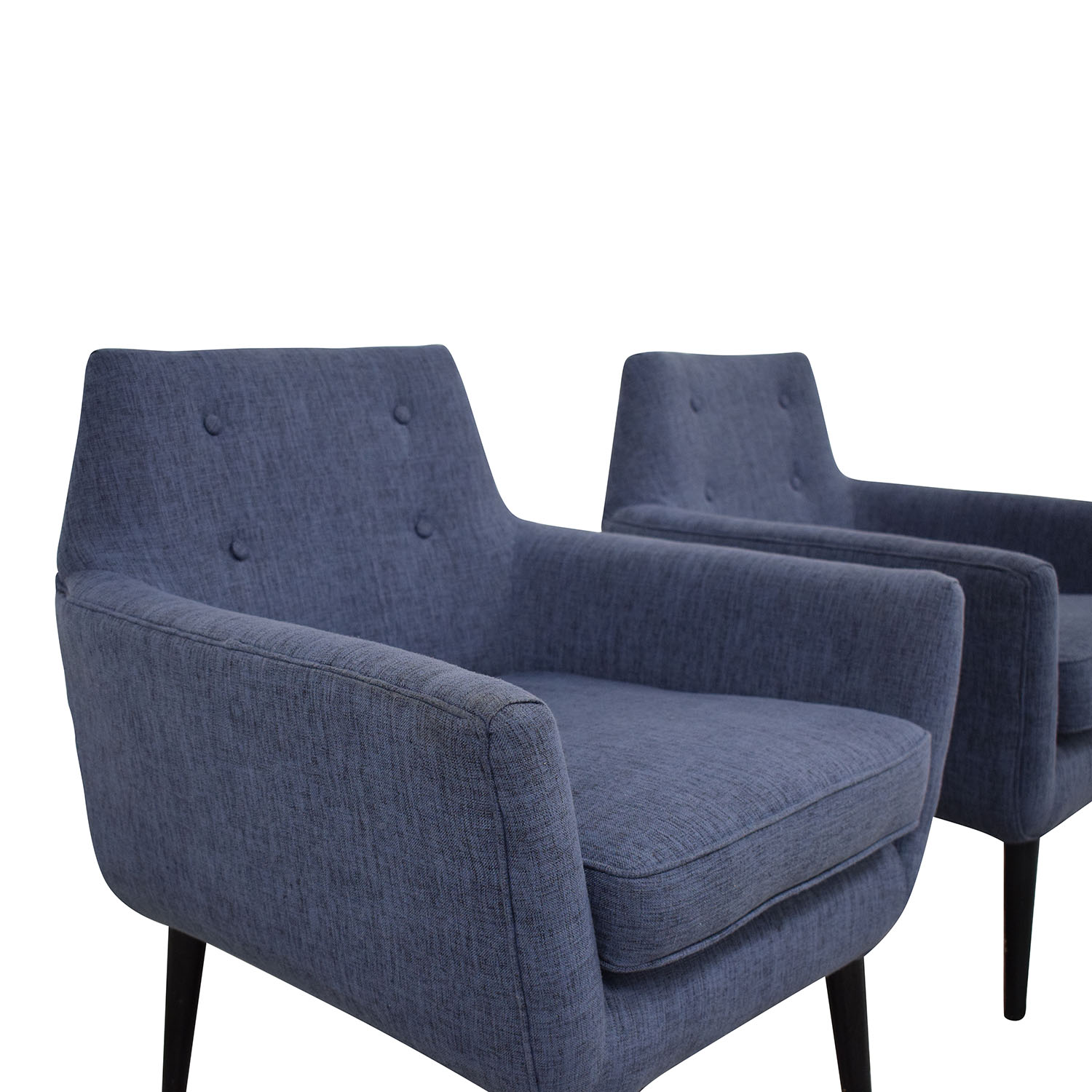 shop TOV Furniture Clyde Linen Chairs Tov Accent Chairs