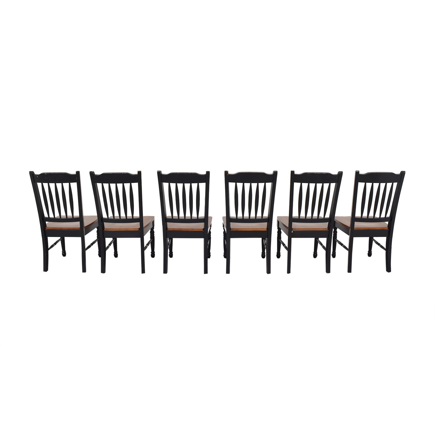 Pottery Barn Pottery Barn Spindle Back Dining Chairs nj