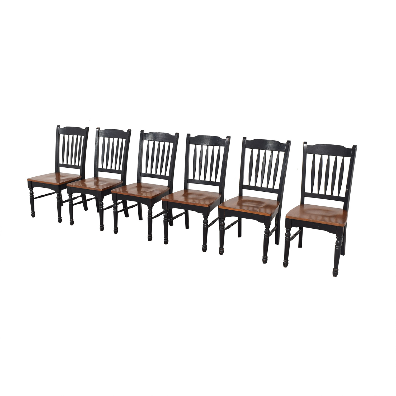 Pottery Barn Pottery Barn Spindle Back Dining Chairs ct