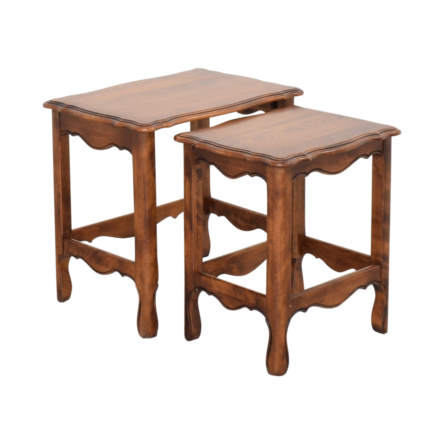 Ethan Allen Stacking End Tables sale