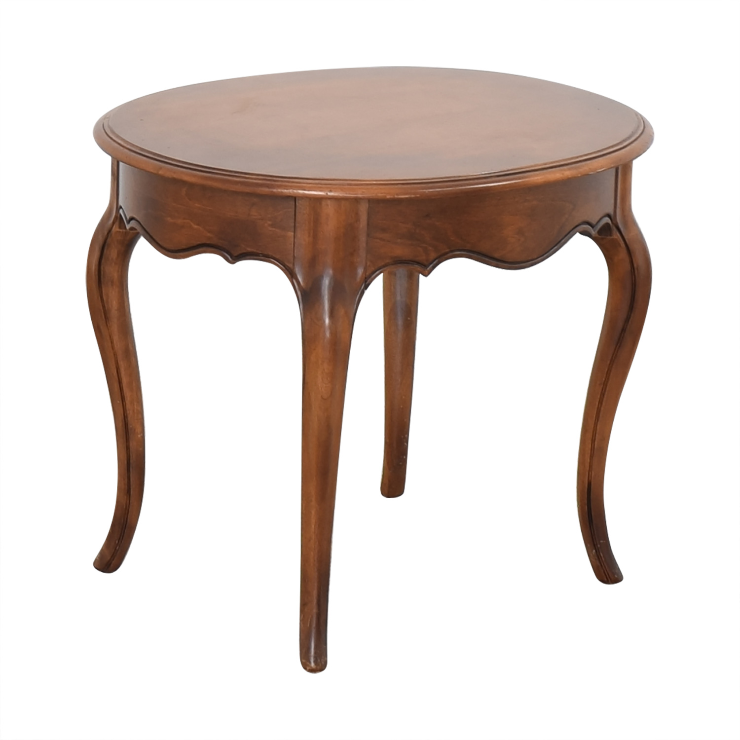 Ethan Allen Ethan Allen Oval End Table used