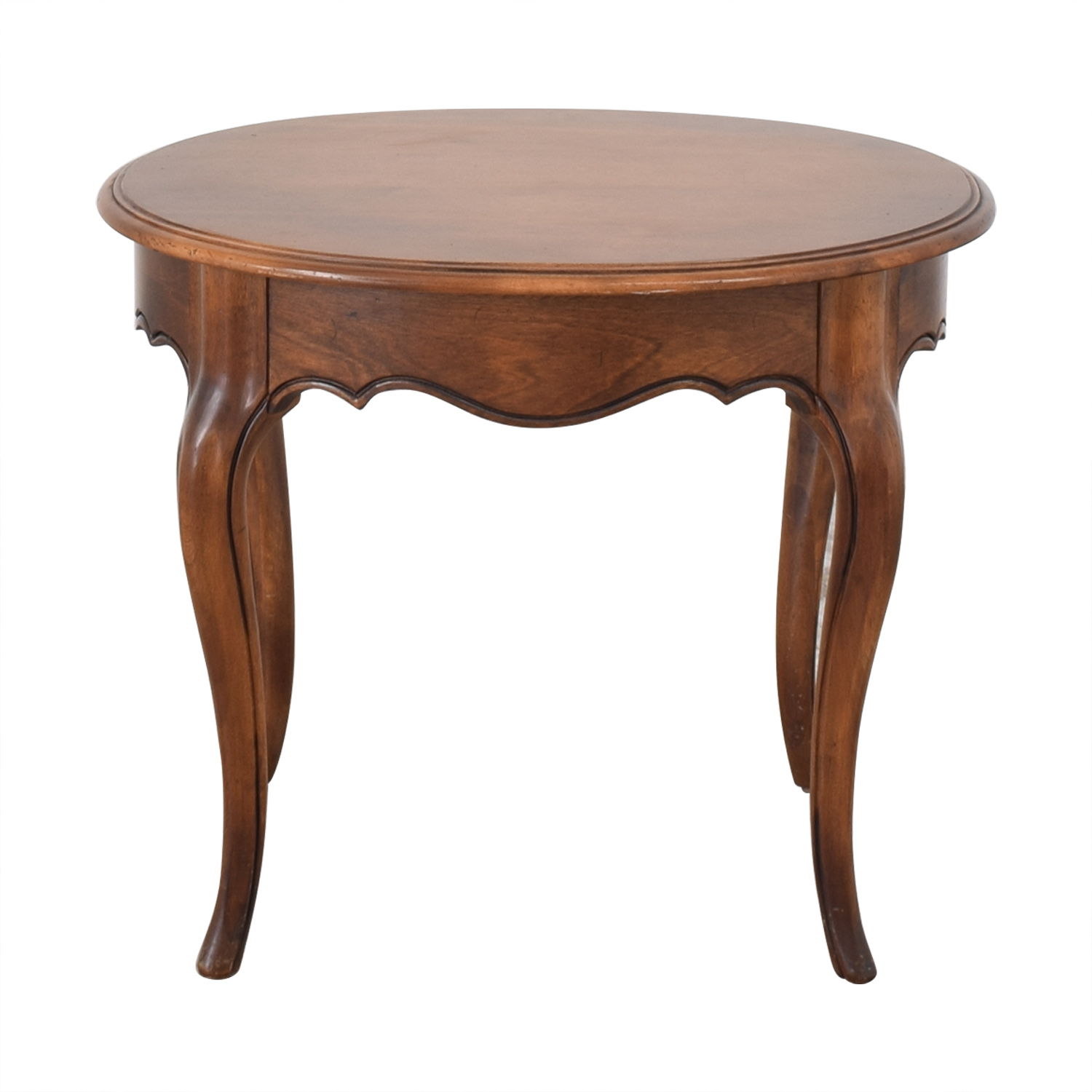 Ethan Allen Oval End Table / Tables