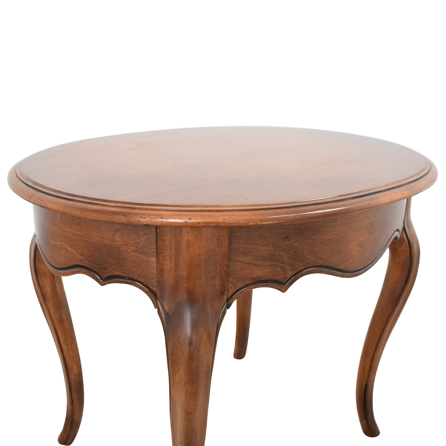 Ethan Allen Ethan Allen Oval End Table nj