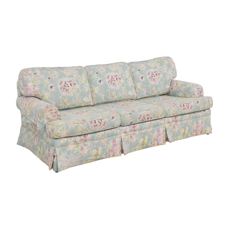 Ethan Allen Ethan Allen Three Cushion Sofa dimensions