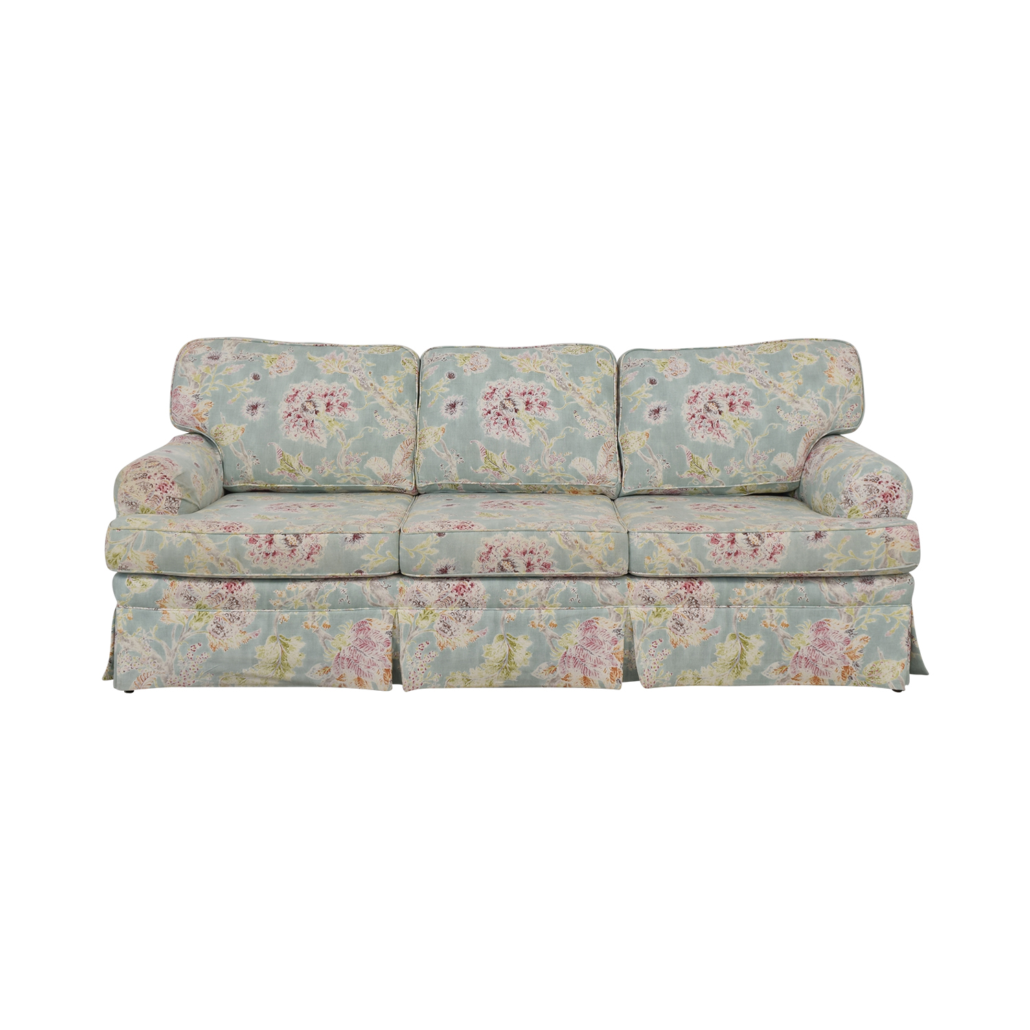 Ethan Allen Three Cushion Sofa sale