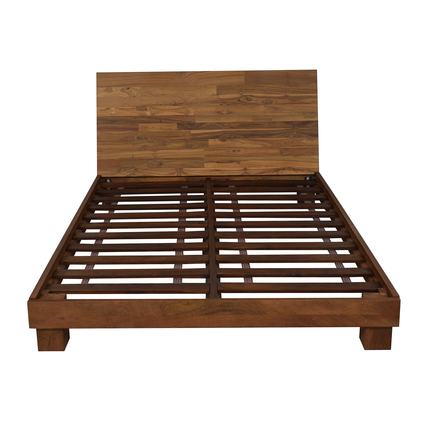 CB2 CB2 Dondra Teak Full Bed ct