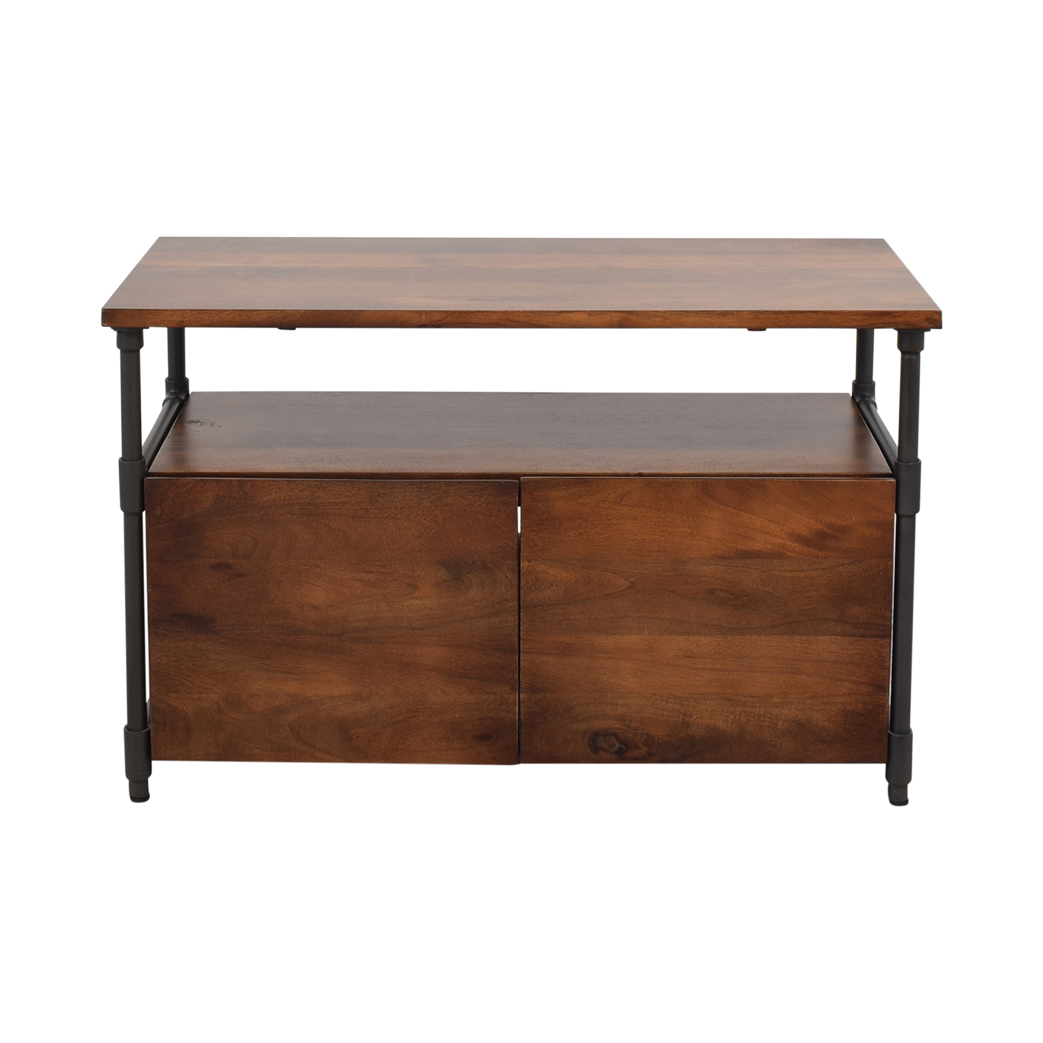West Elm West Elm Pipe Media Console dimensions