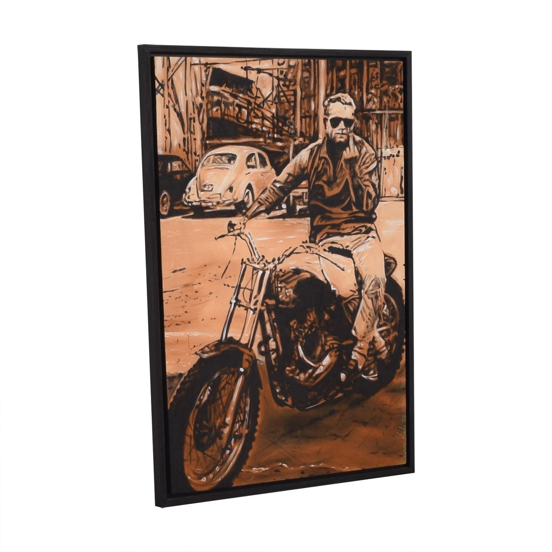 Reyaz Nadi Steve McQueen Framed Painting / Wall Art