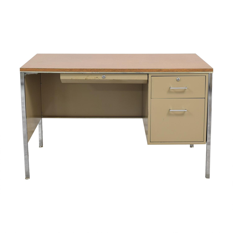 Single Pedestal Office Desk used
