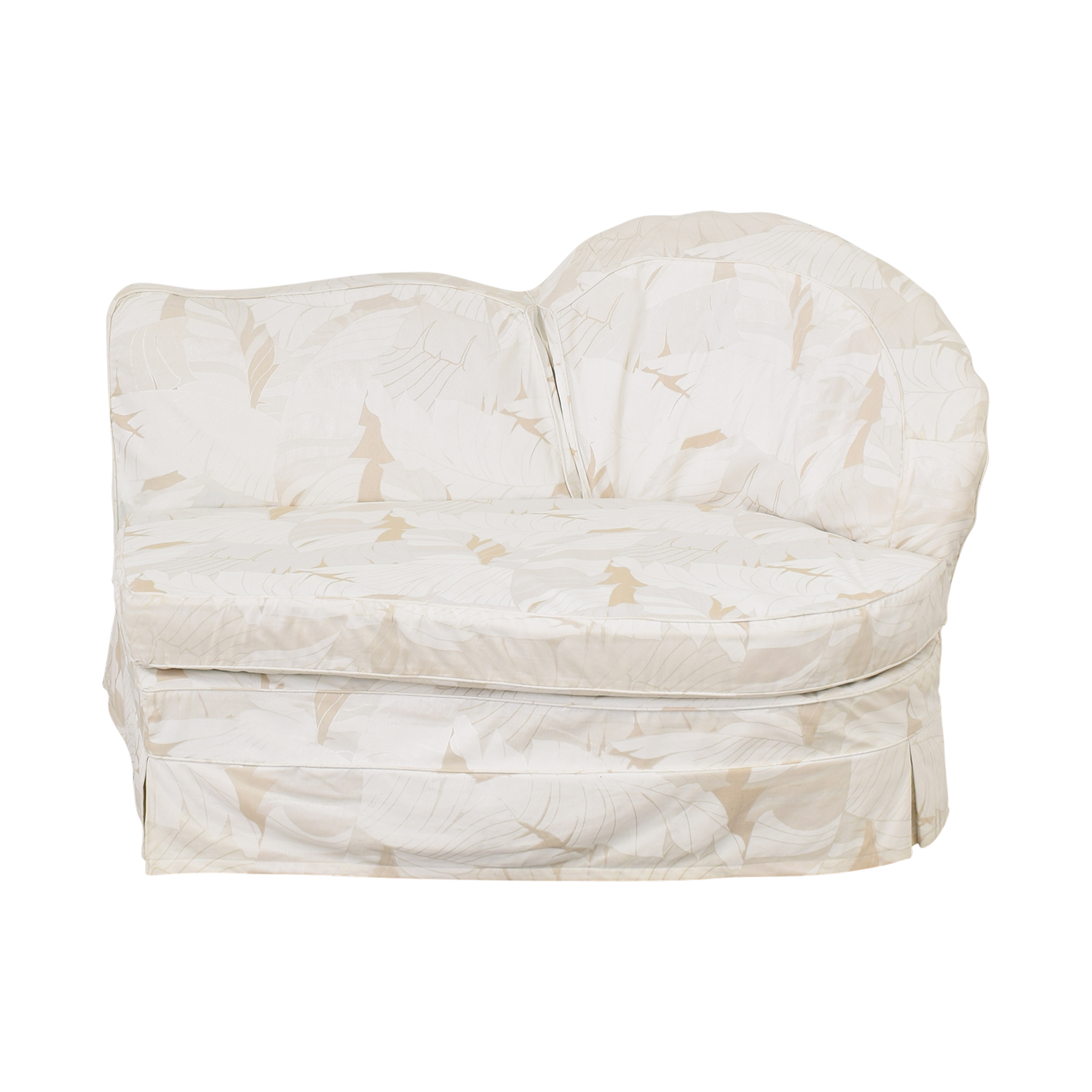 shop Upholstered Armless Loveseat