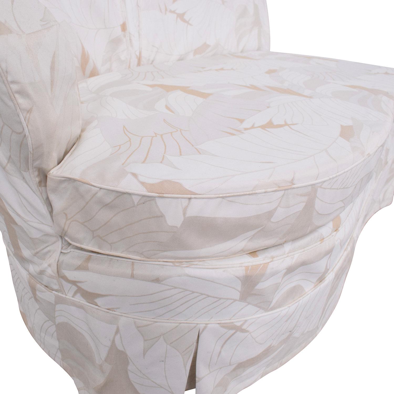 Slipcovered Armless Lovseat on sale