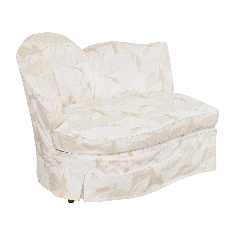 buy Slipcovered Armless Lovseat  Sofas