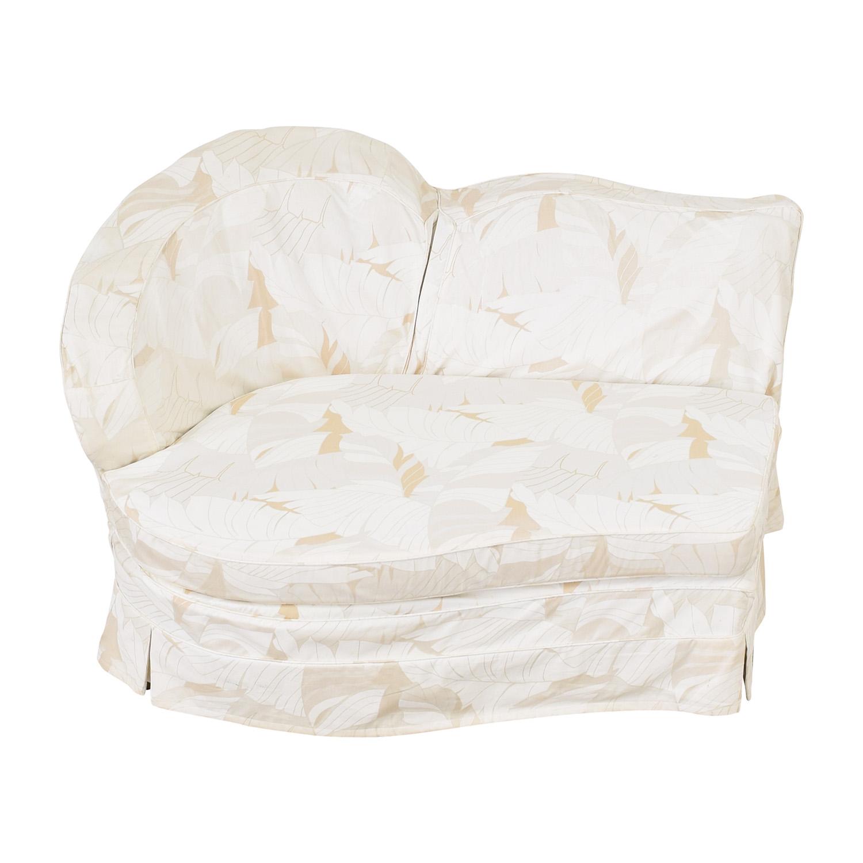 Slipcovered Armless Lovseat discount