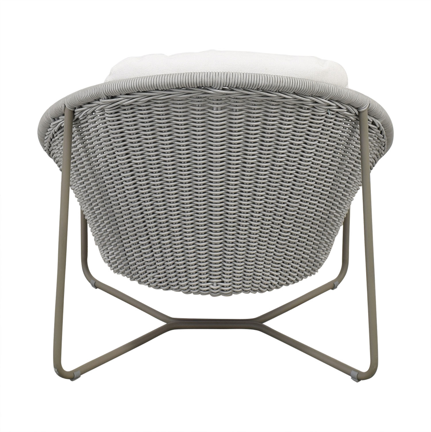 Crate & Barrel Crate & Barrel Morocco Oval Lounge Chair with Cushion coupon