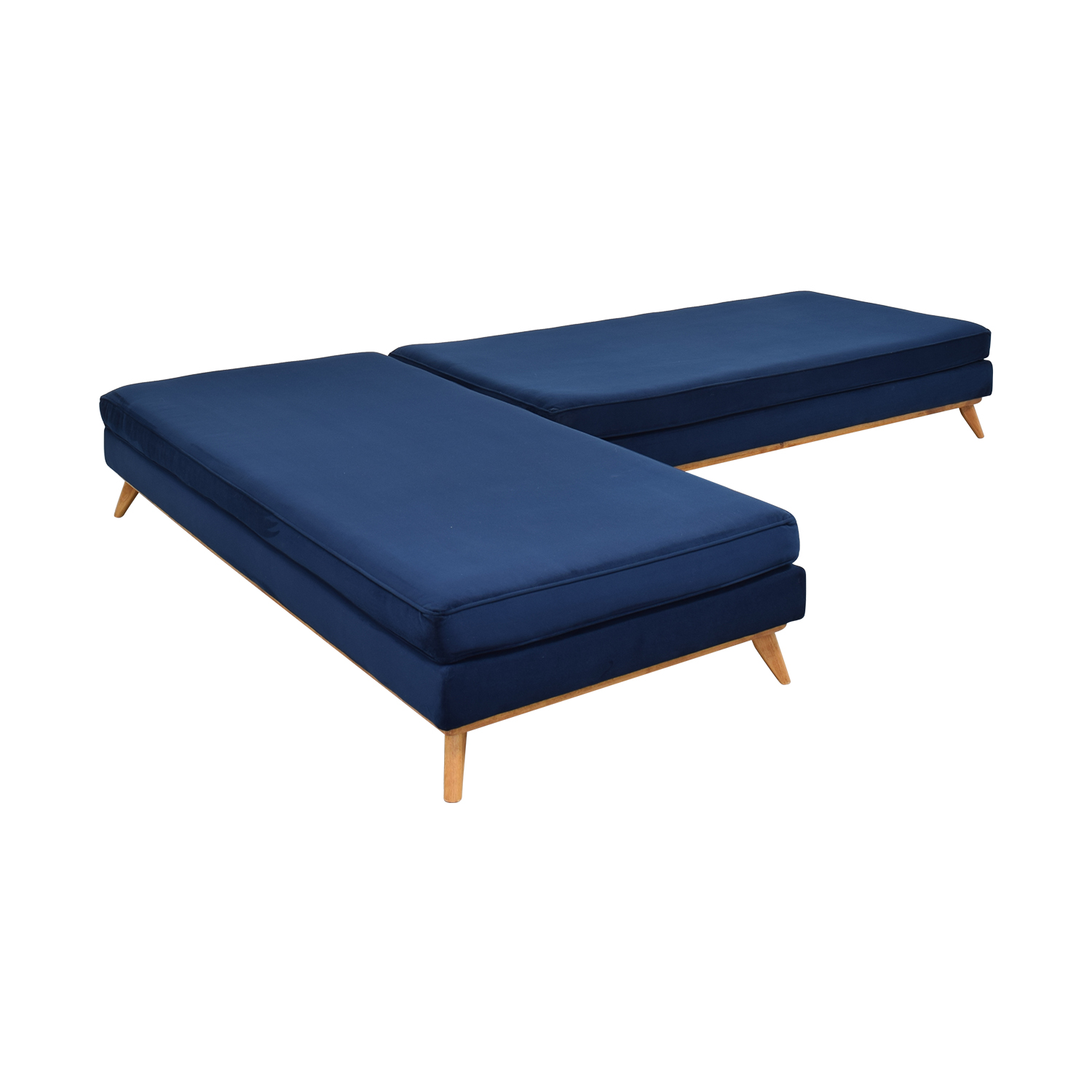 Total Design Furniture TDFurniture L-Shaped Sectional Convertible Day Bed price