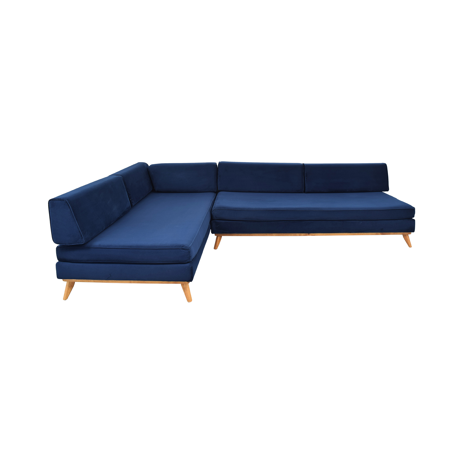 Total Design Furniture TDFurniture L-Shaped Sectional Convertible Day Bed for sale