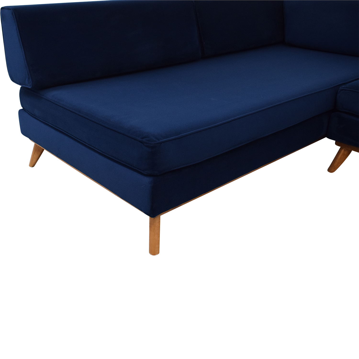 Total Design Furniture TDFurniture L-Shaped Sectional Convertible Day Bed ma