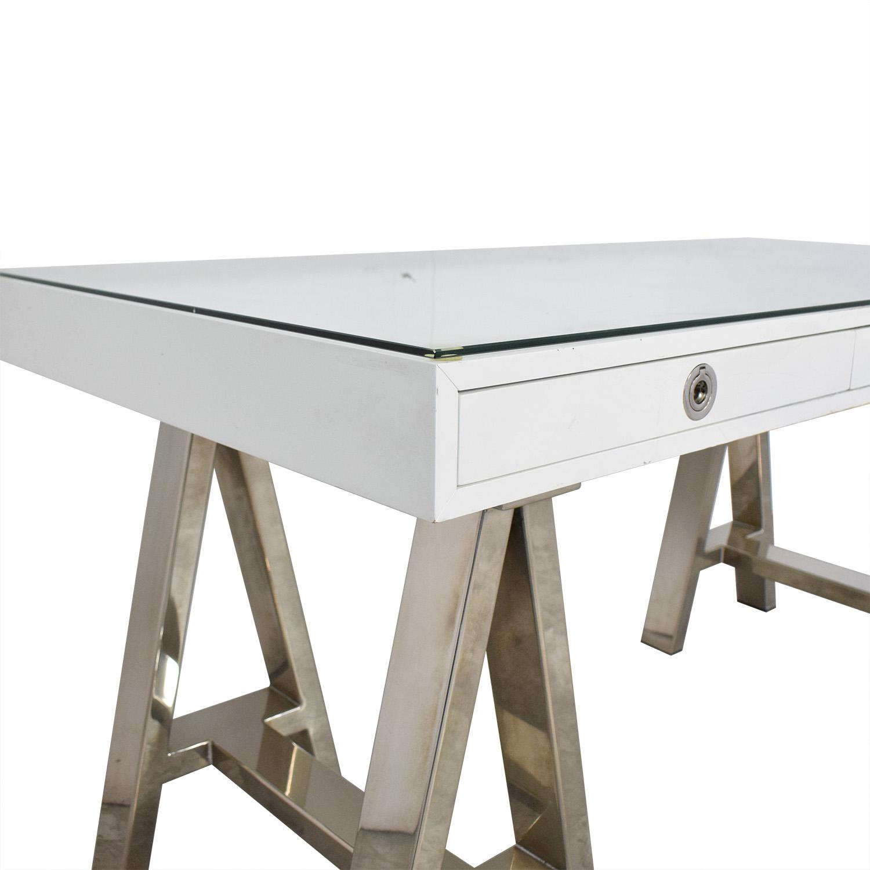 buy Williams Sonoma Mason Desk Williams Sonoma Tables