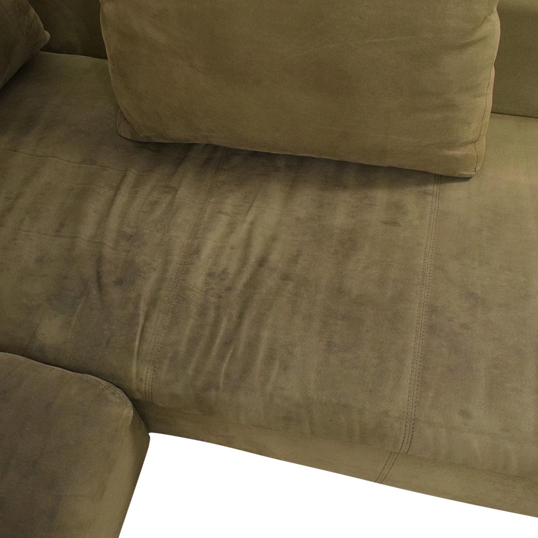 ABC Carpet & Home Sectional sale