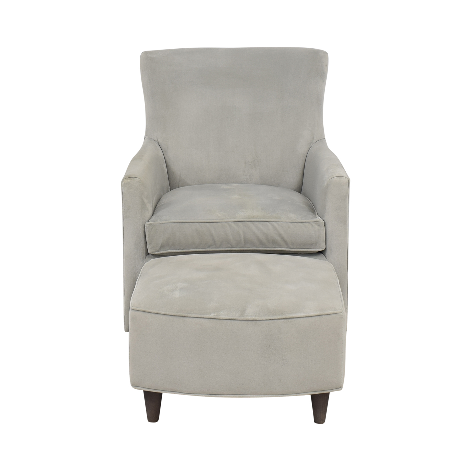 shop Land of Nod Glider and Ottoman Land of Nod Accent Chairs