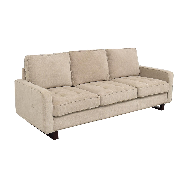 Three Cushion Sofa used