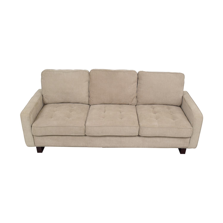 Three Cushion Sofa nyc
