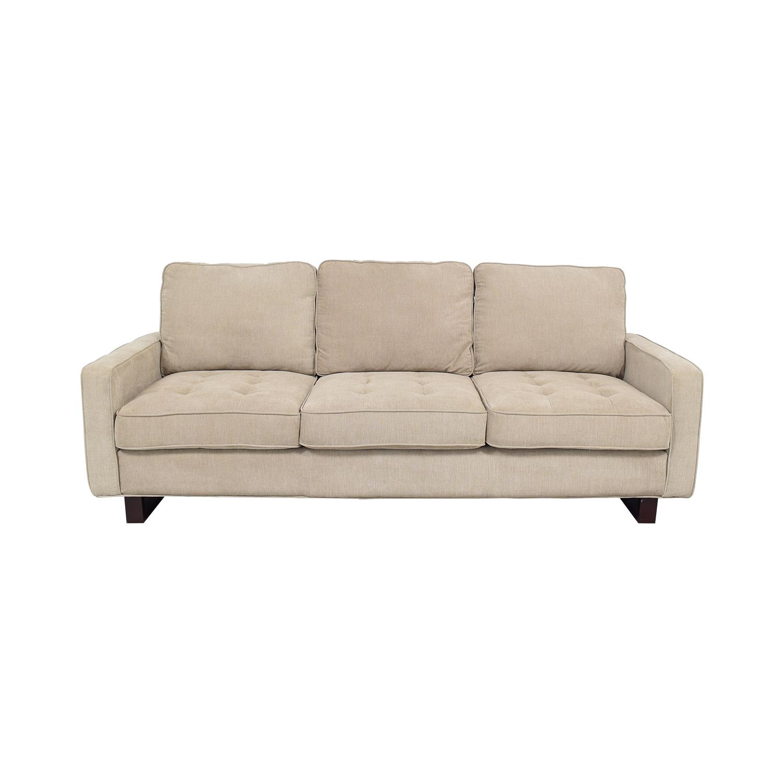 Three Cushion Sofa for sale
