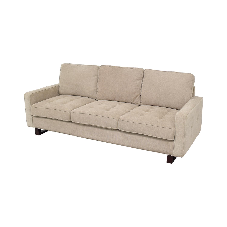 Three Cushion Sofa on sale
