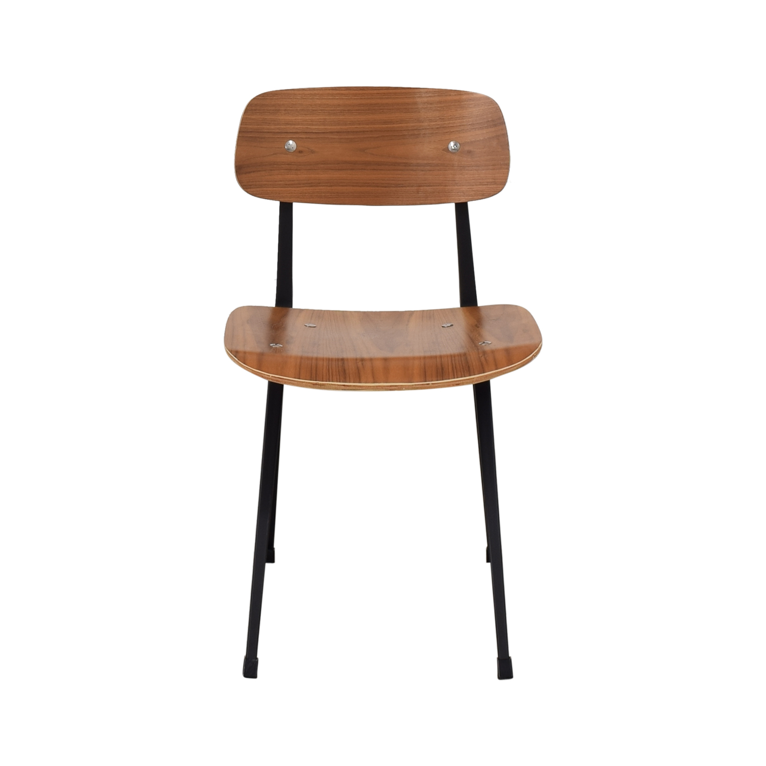 Organic Modernism Organic Modernism Cafe Walnut Dining Chair nj