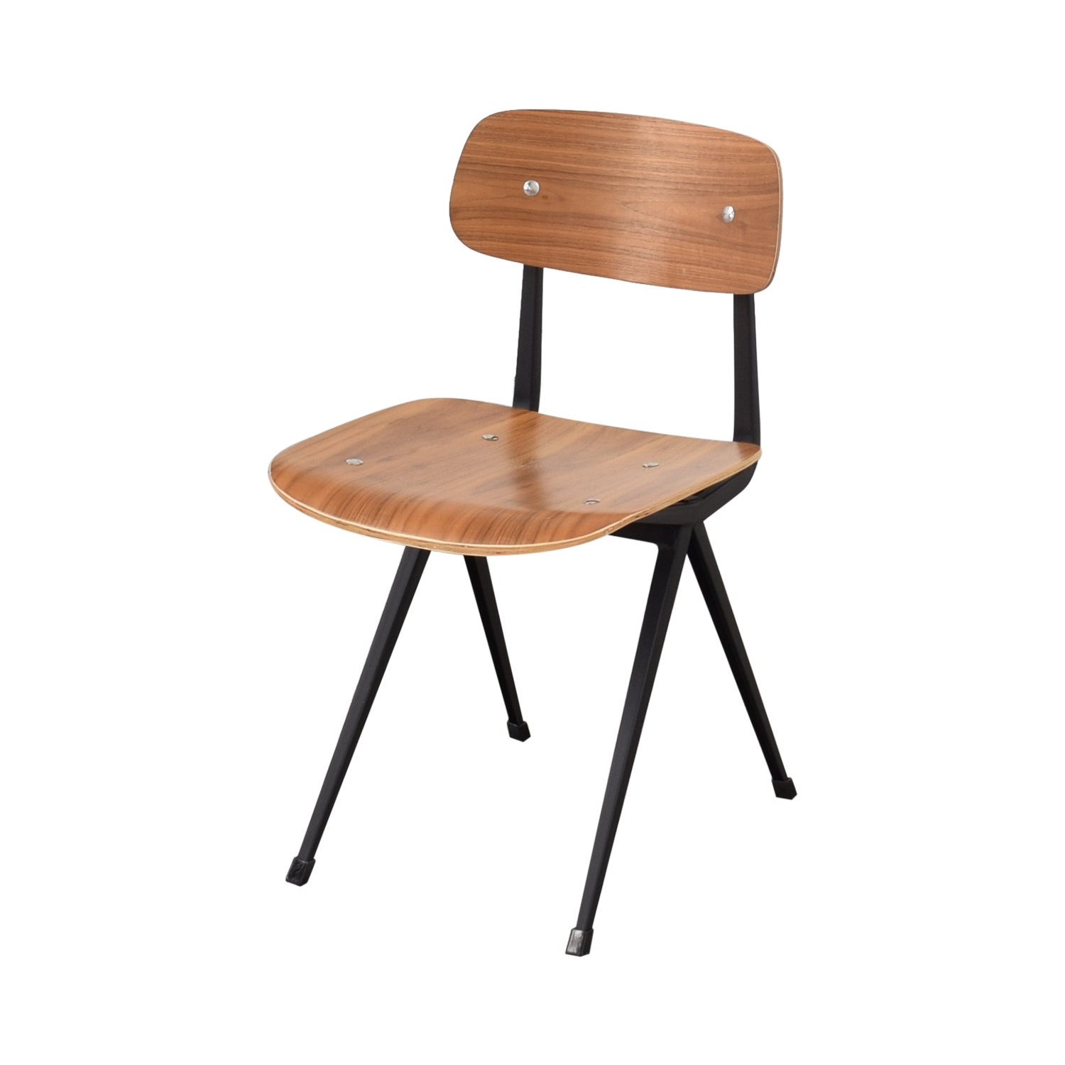 Organic Modernism Organic Modernism Cafe Walnut Dining Chair