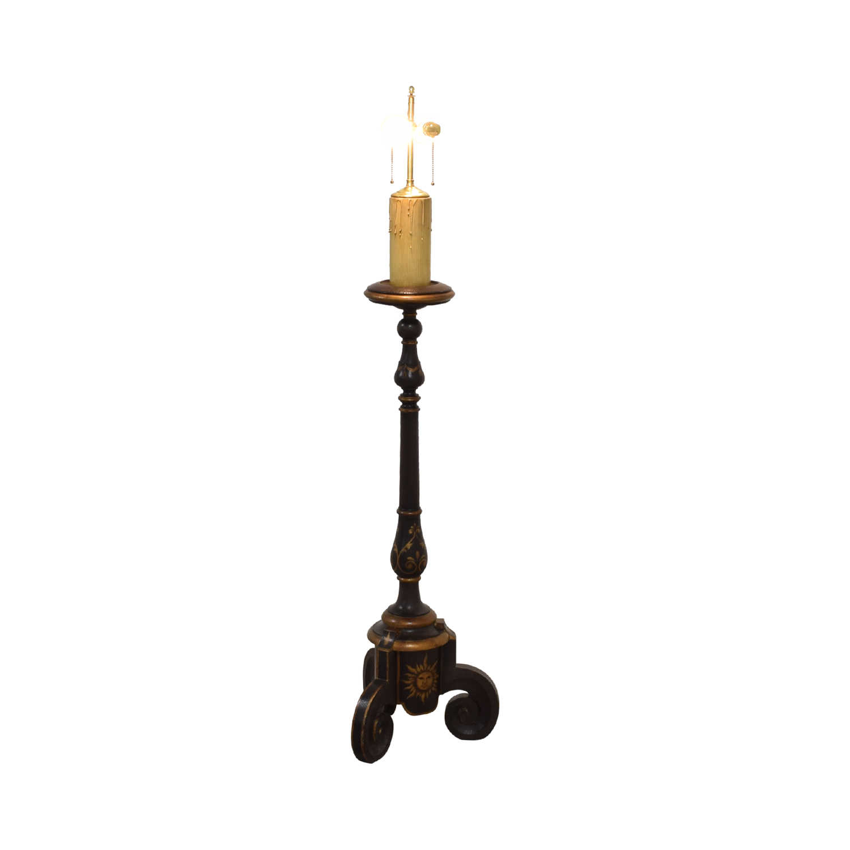 shop Hand Painted Lamp  Decor