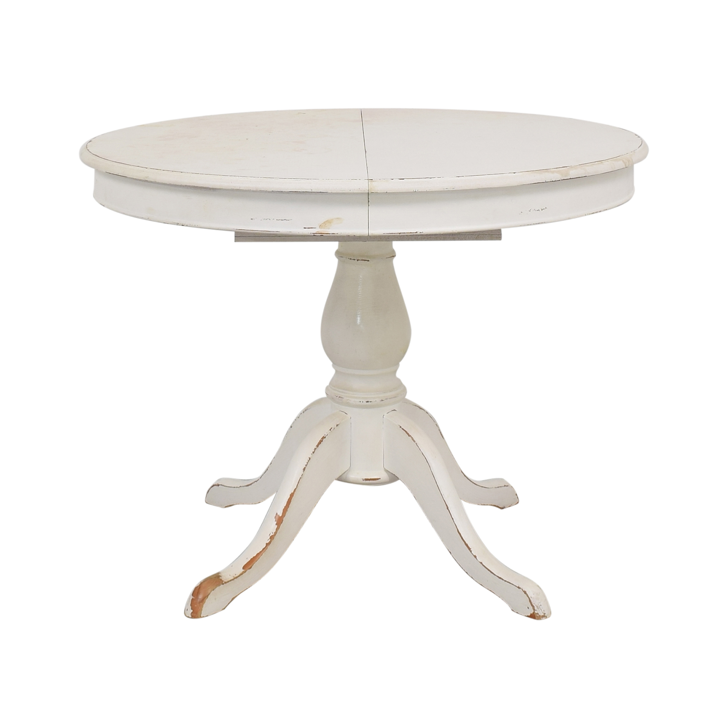 buy Pottery Barn Pottery Barn Owen Extending Pedestal Table online