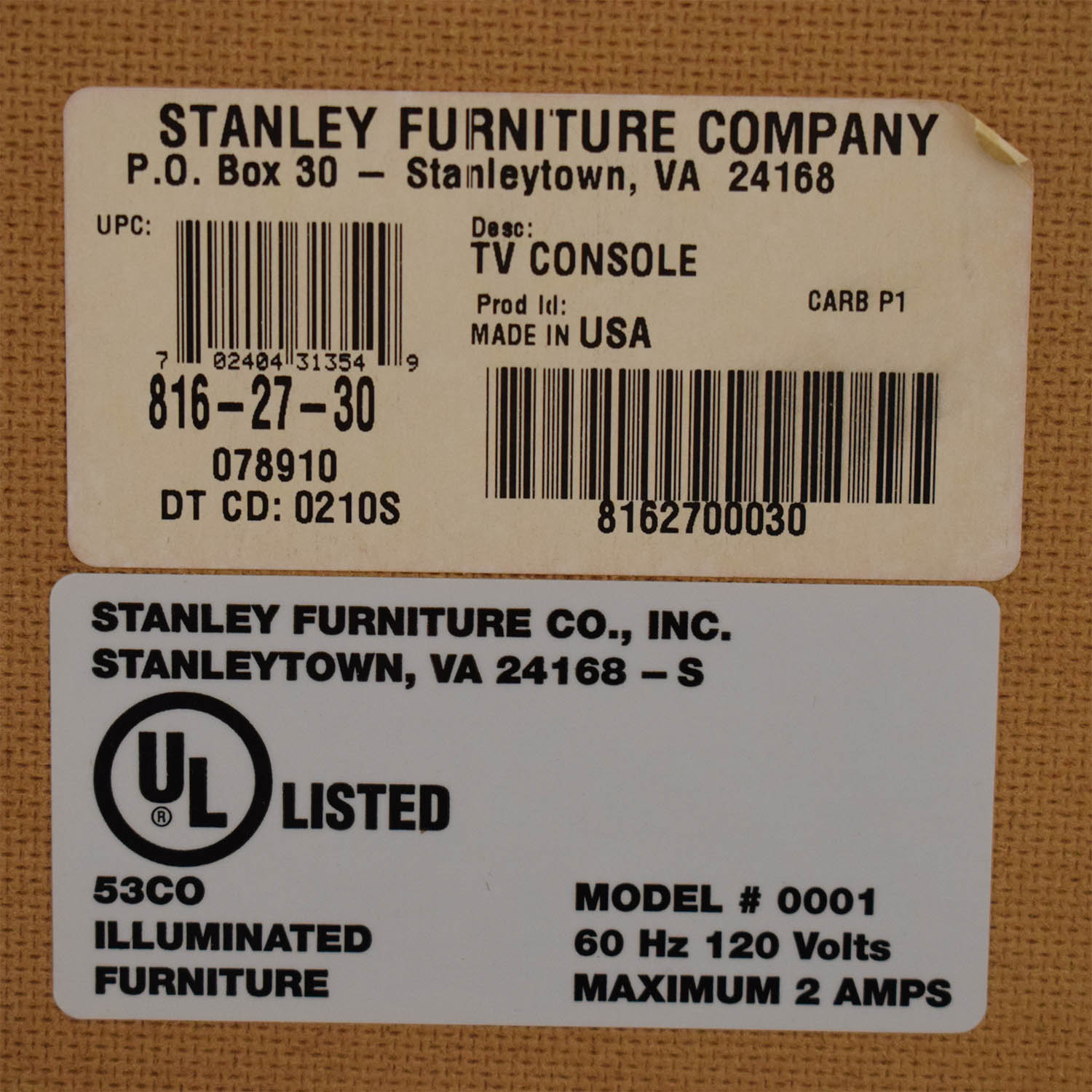 Stanley Furniture Stanley Furniture Media Console for sale