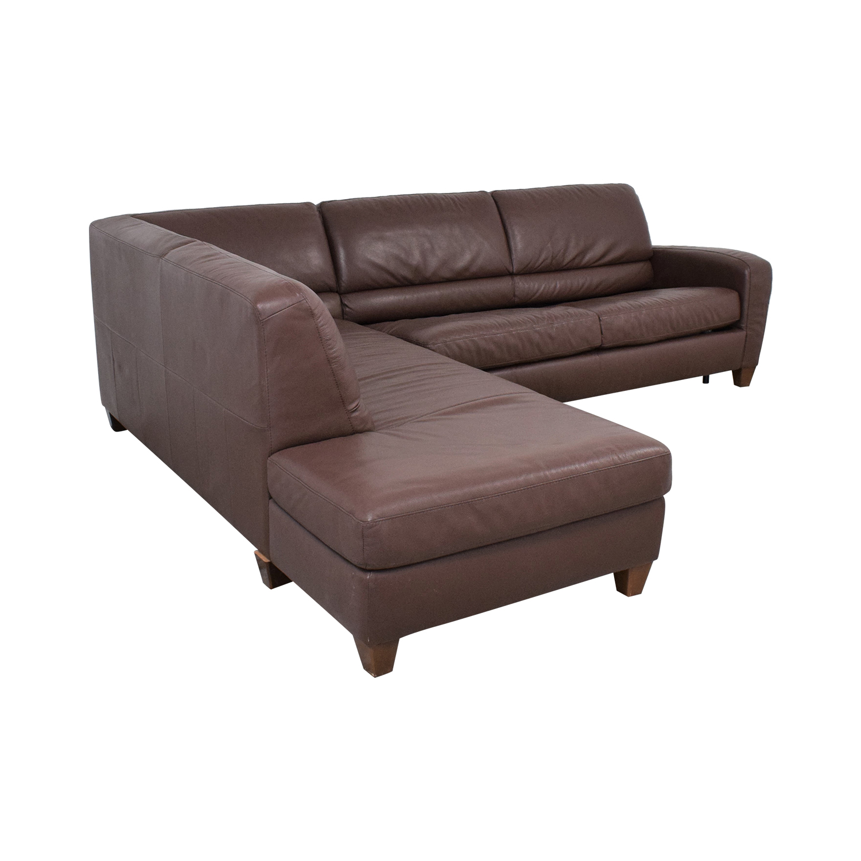 Italsofa Italsofa Sectional Sleeper Sofa with Chaise nyc