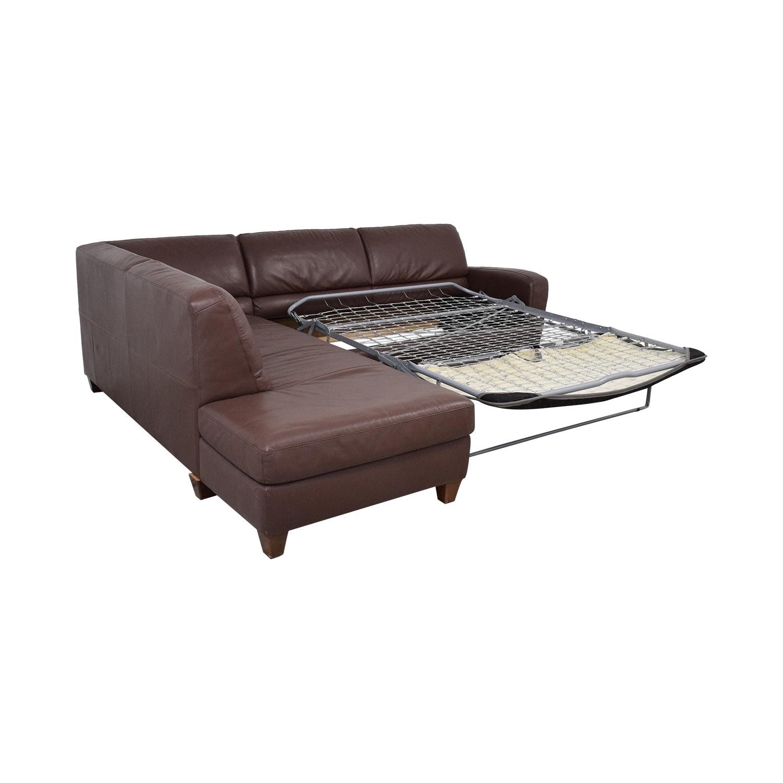 Italsofa Italsofa Sectional Sleeper Sofa with Chaise