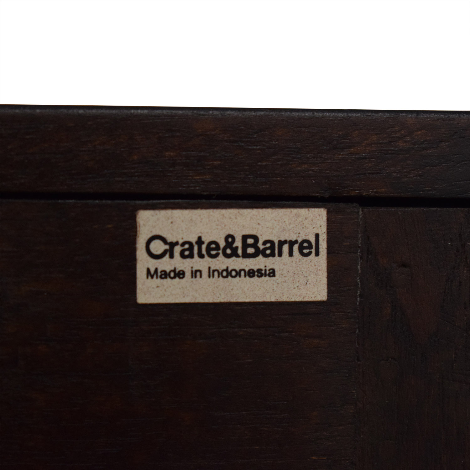 Crate & Barrel Crate & Barrel Five Drawer Dresser with Cabinet nyc