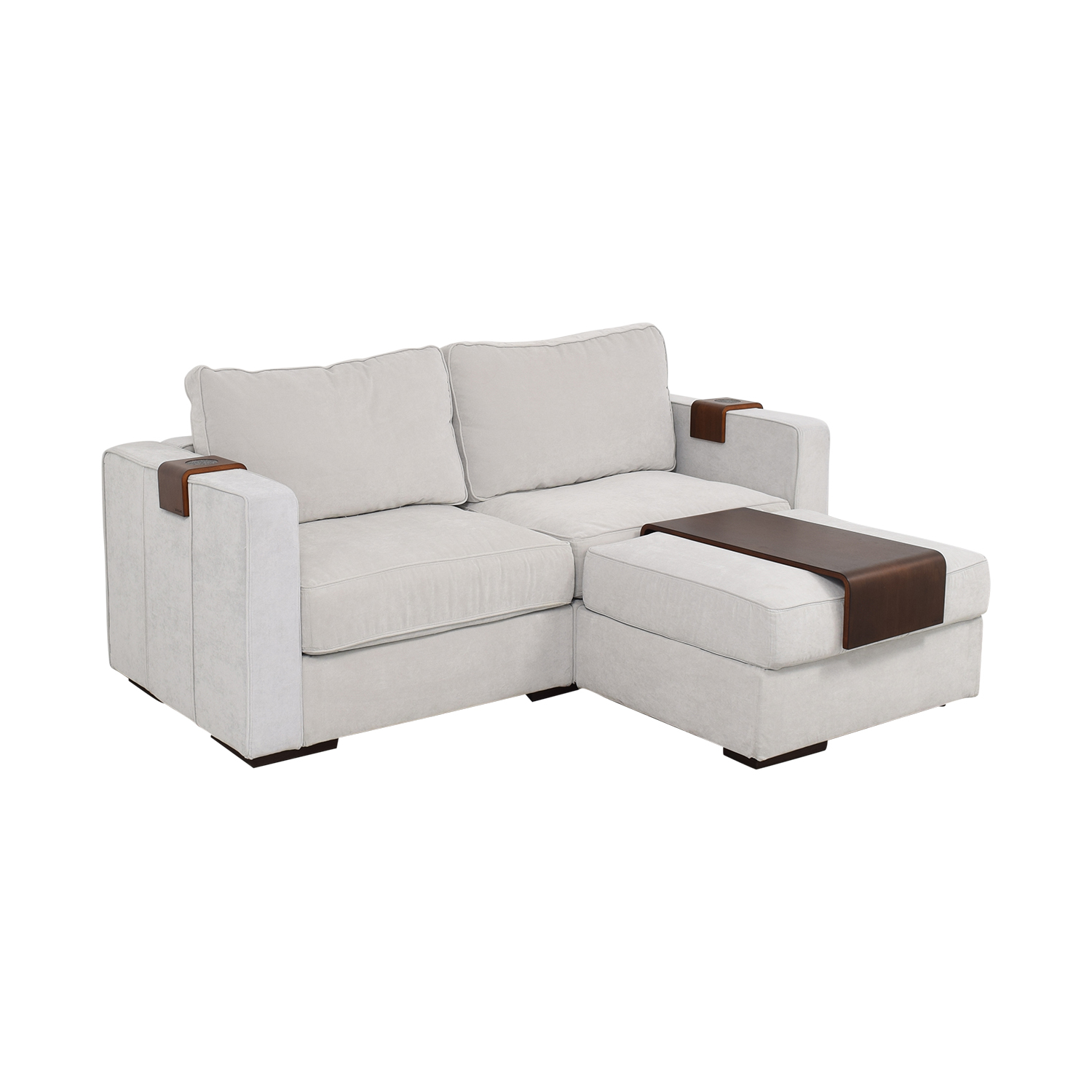 Terrific 67 Off Lovesac Lovesac Loveseat With Ottoman Sofas Spiritservingveterans Wood Chair Design Ideas Spiritservingveteransorg