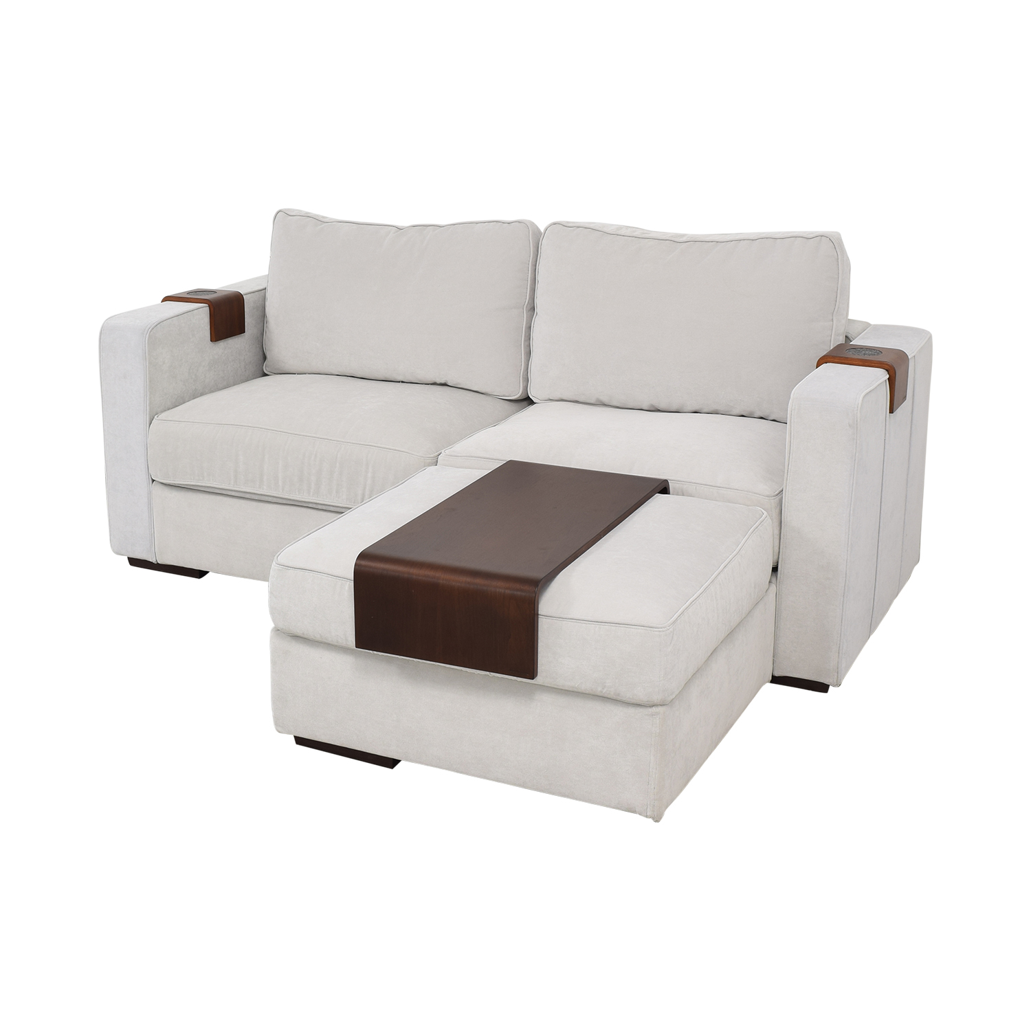 Fabulous 67 Off Lovesac Lovesac Loveseat With Ottoman Sofas Spiritservingveterans Wood Chair Design Ideas Spiritservingveteransorg