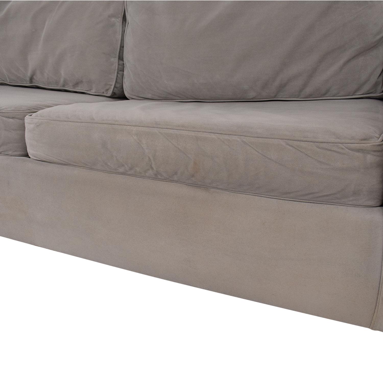 - 80% OFF - West Elm West Elm Henry Queen Sleeper Sofa / Sofas