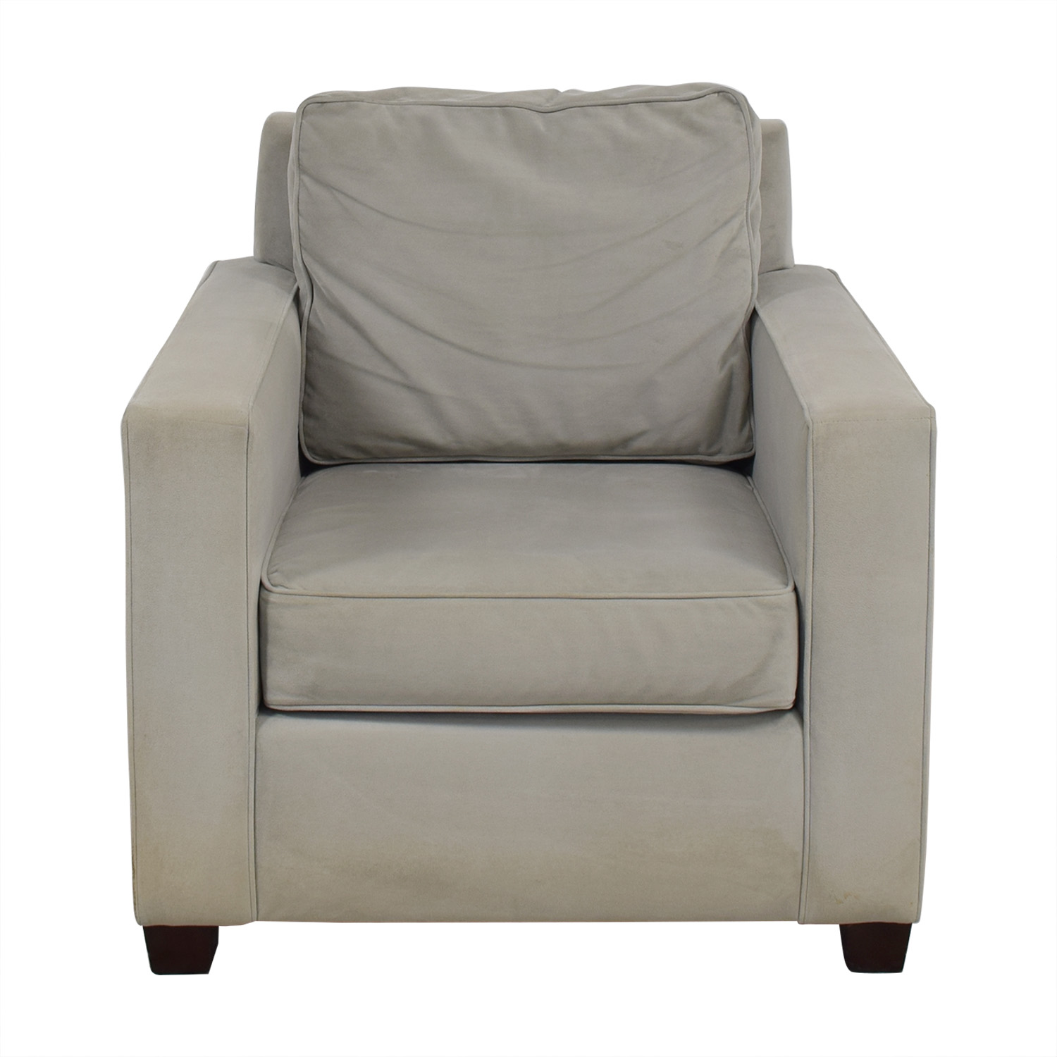West Elm West Elm Henry Armchair grey