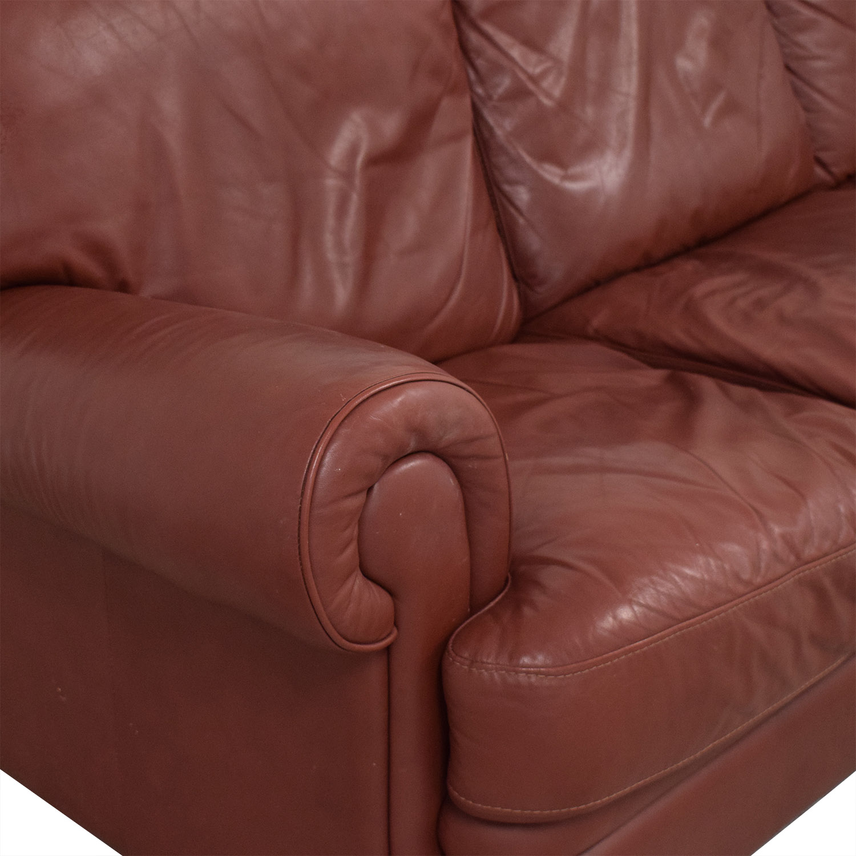 Three Cushion Roll Arm Sofa / Sofas