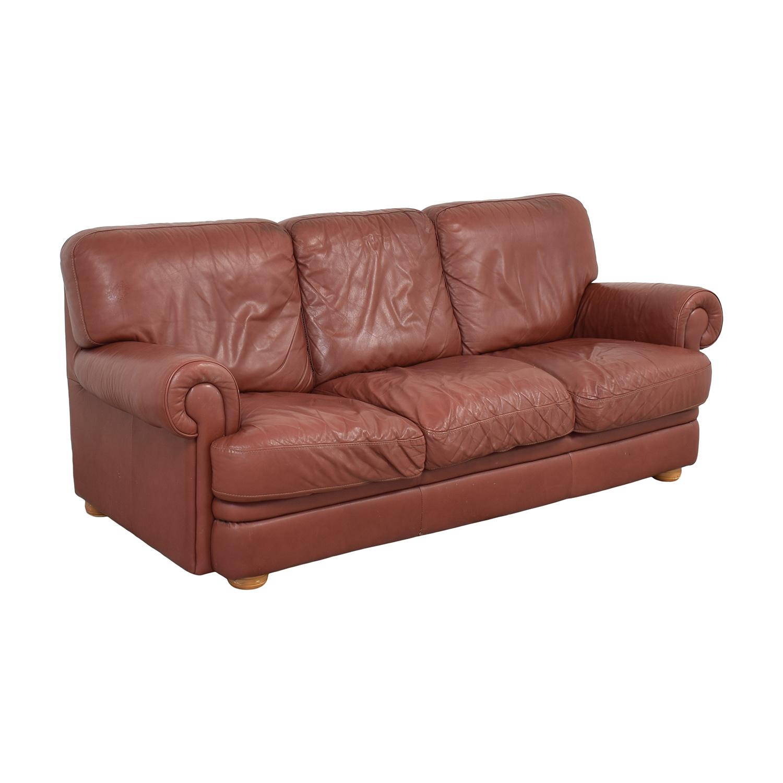 Three Cushion Roll Arm Sofa price