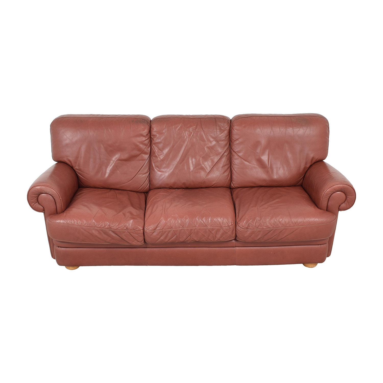 shop Three Cushion Roll Arm Sofa