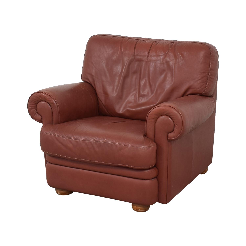 shop Italian Club Chair with Ottoman  Chairs