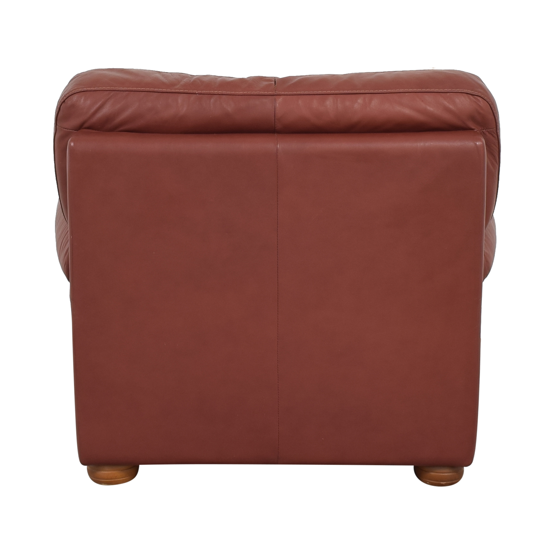 buy Italian Club Chair with Ottoman