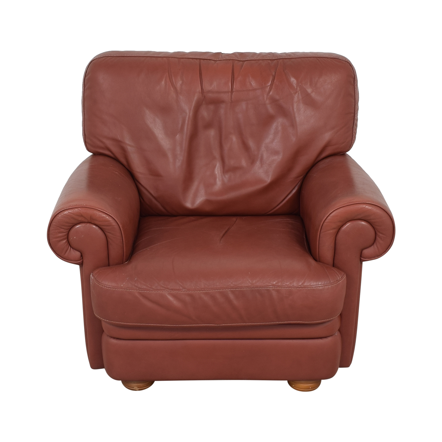 shop Italian Club Chair with Ottoman  Accent Chairs